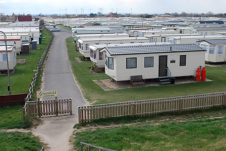 Caravans for Hire at Greenfield Caravan Park